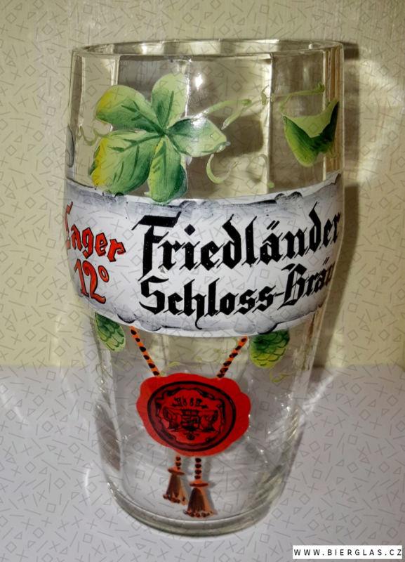 Bierglas Brauerei Friedland