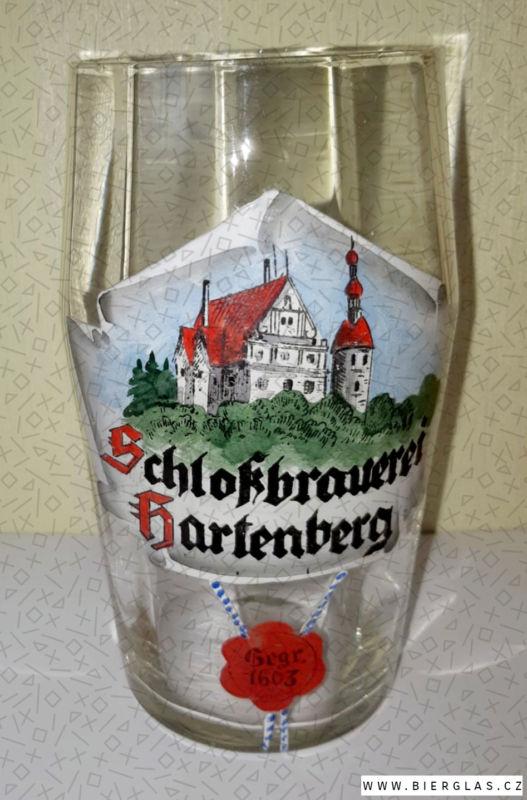 Bierglas Brauerei Hartenberg